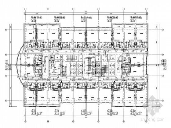 [北方]16万平米大型城市综合体给排水图纸(办公 酒店 公寓)