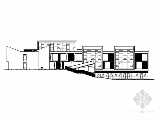 [四川]三层框架结构9班幼儿园建筑施工图