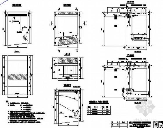 [江苏]悬灌施工法有砟轨道40+72+40m双线预应力混凝土连续梁图纸69张