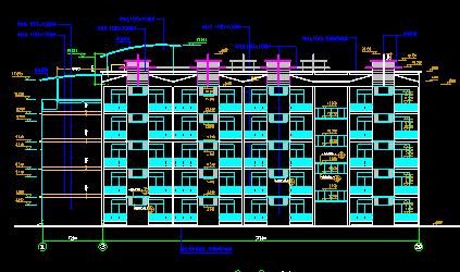 四川省南充市向阳中学方案设计施工图(含结构图纸)