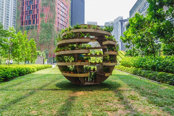 新加坡城市装置设计展