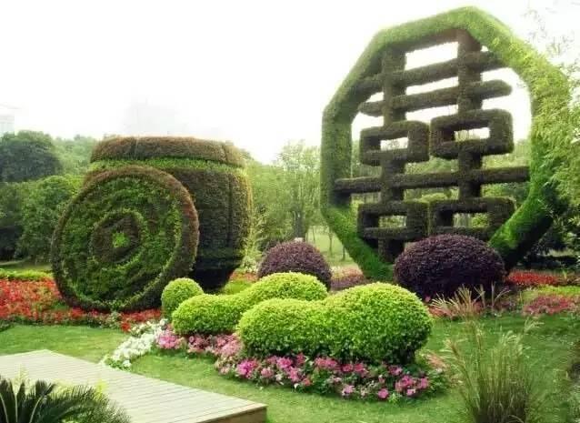 80个极美植物雕塑_16