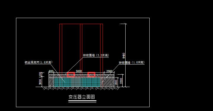 南山改造项目变压器防护棚方案(附施工图)
