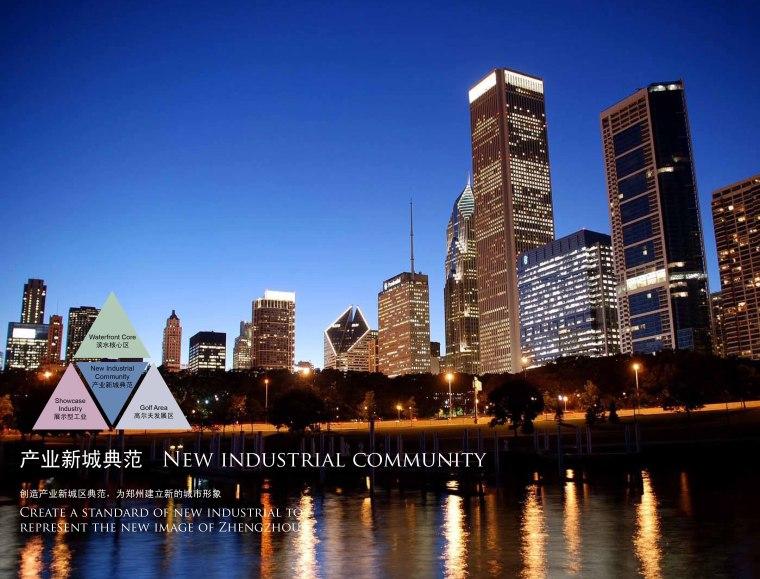 郑州某经济技术开发区概念性规划设计