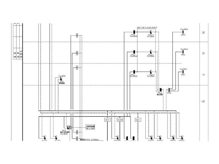 [陕西]2016年安康平利县农贸市场全套变配电系统及弱电系统设计施工图