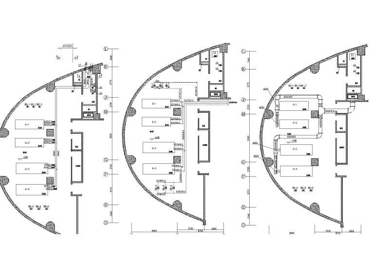中央空调机房及原理图(包括高低区冷热源系统图和自控原理图)