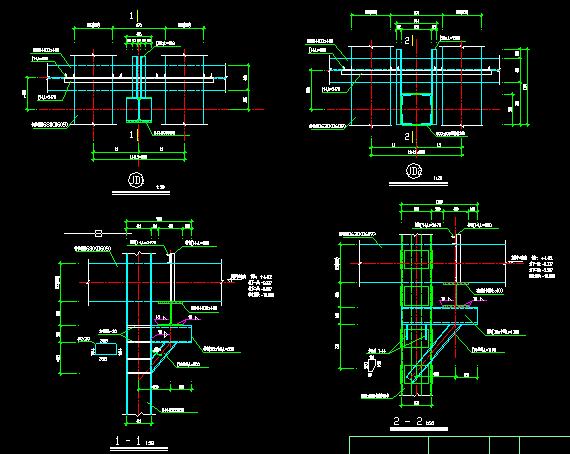 上海环球金融中心基坑逆作法施工结构图_4