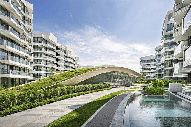 新加坡吉宝湾丽珊景住宅景观设计_7