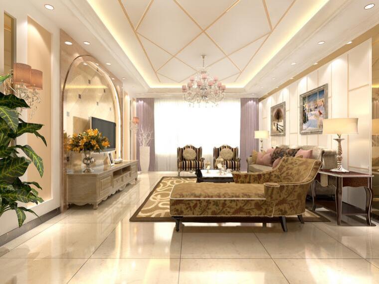 小户型欧式装修装扮小客厅温馨漂亮有几个注意要点
