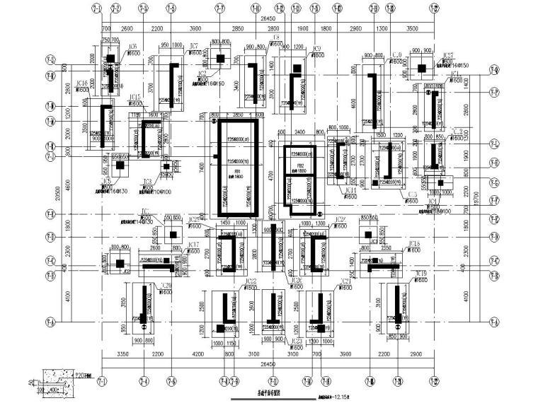 16000平32层剪力墙结构高层住宅楼结构施工图