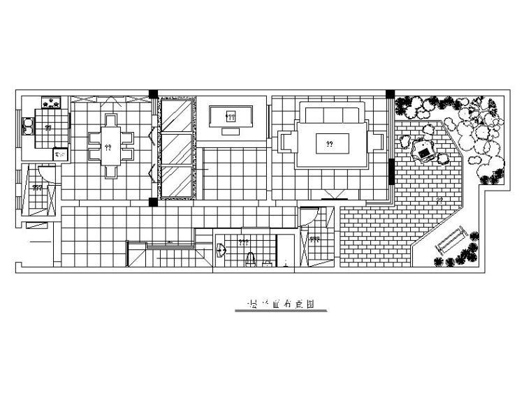 [常熟]四层别墅家居设计施工图点到套别墅v别墅最远内图片