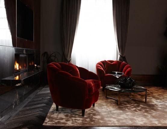 典雅尊贵的家装设计,满满的奢侈与华丽