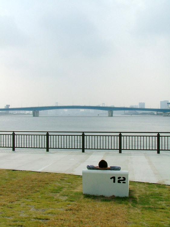 东京丰州LaLaport码头休闲区景观设计_15