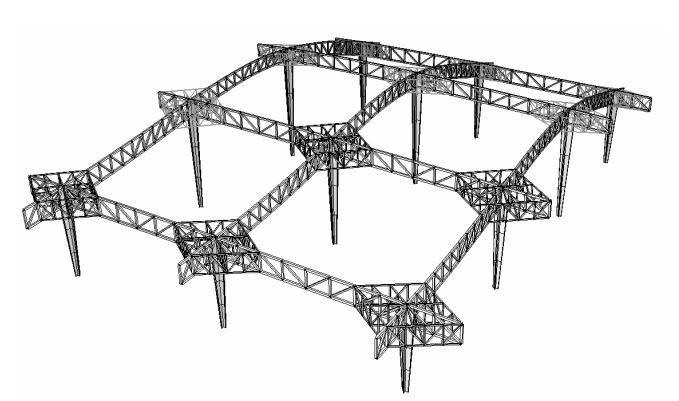 深圳机场T3航站楼钢结构超限审查报告(结构分析:大厅,PDF,37页)_4