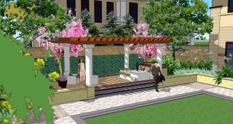 [山东]世界园艺博览会配套酒店景观设计(欧式风格)_3