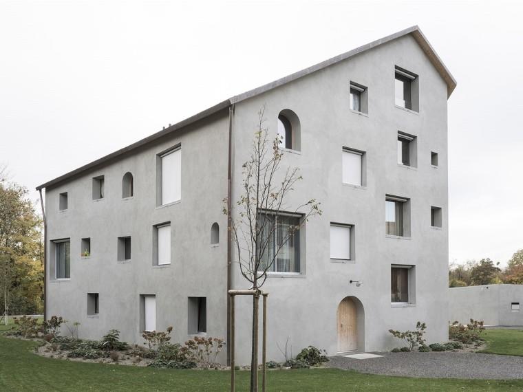 瑞士Auvernier地区住宅楼