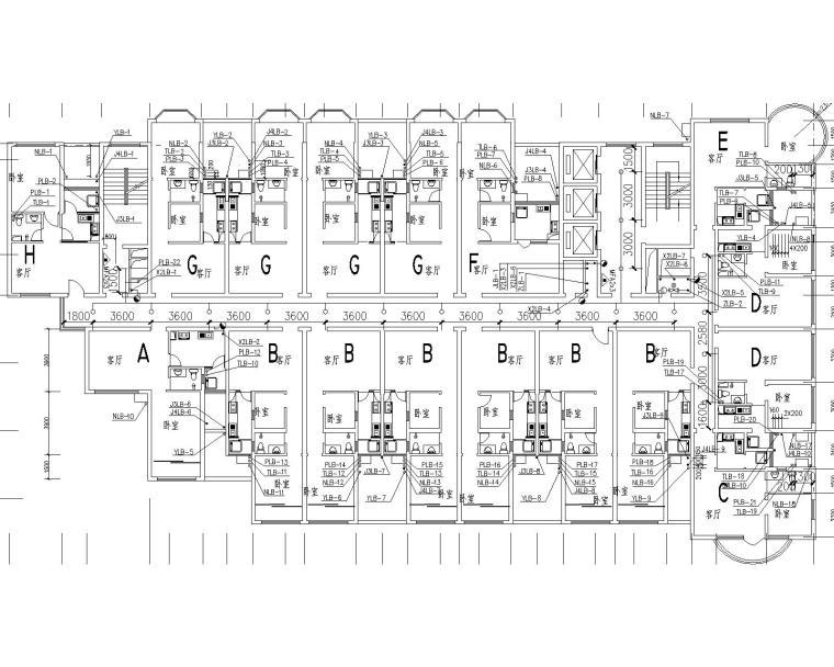 某综合高层(5星酒店和公寓)给排水施工图_2