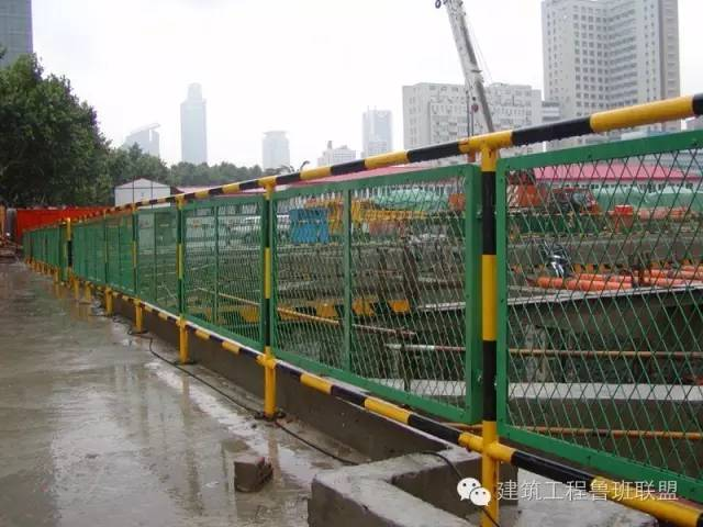 安全文明标准化工地的防护设施是如何做的?_5
