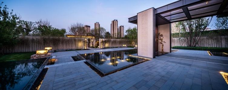 北京阳光城京兆府新中式住宅景观-1 (26)