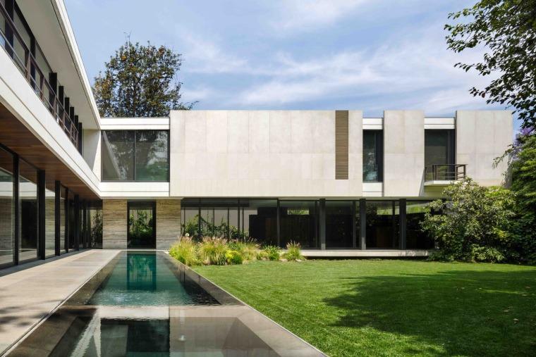 墨西哥冷淡风格的住宅