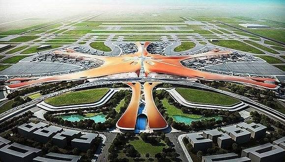 北京新机场航站区工程——指廊1系统图