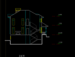 坡地独栋别墅方案设计