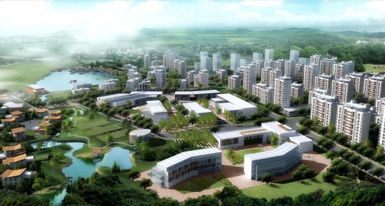 [天津]天津武清卓达养老社区规划设计方案