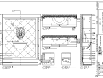 北京棕榈泉会所西餐厅室内设计施工图