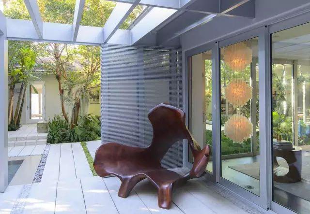 赶紧收藏!21个最美现代风格庭院设计案例_100