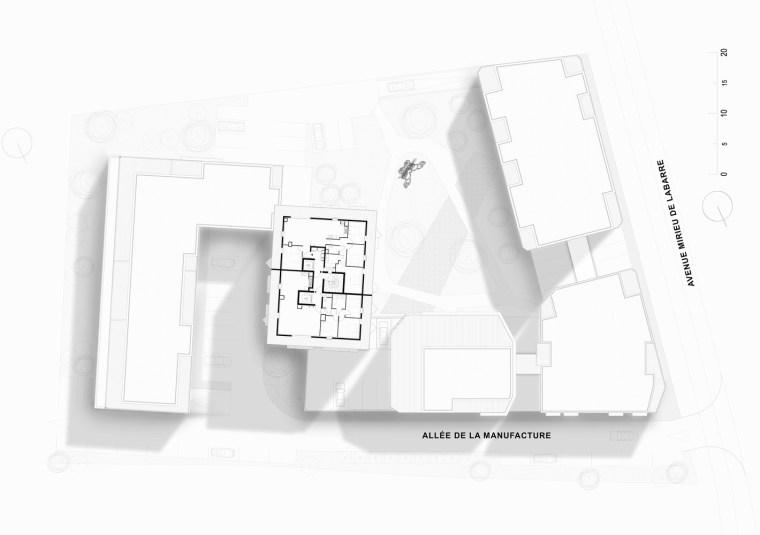 法国花式隔热混凝土的公寓楼平面图(16)