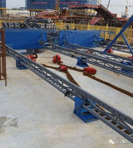 一种新型全钢式升降脚手架,在这里施工就像在室内施工一样_58