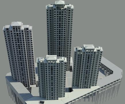 [天津]超高层办公大楼工程BIM技术应用汇报