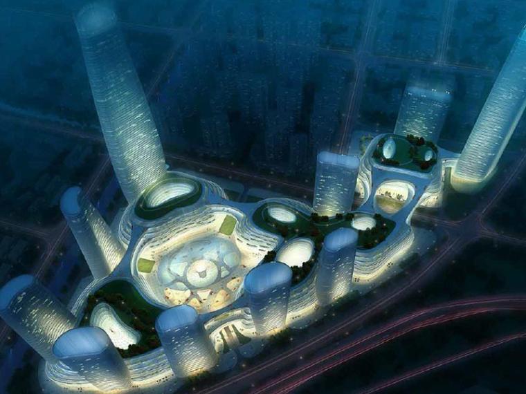 VIVO总部设计方案文本资料下载-[南京]英国benoy雨润总部城市综合体方案文本