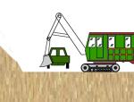 正铲挖土流程动画演示