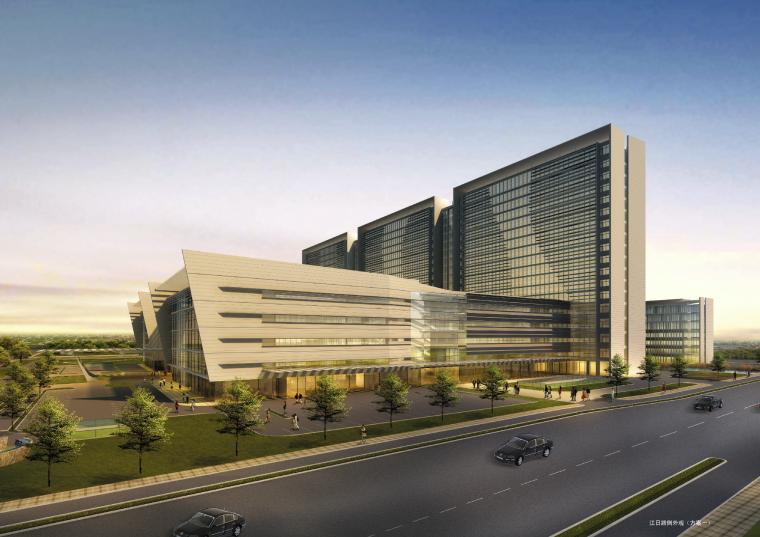[江苏]苏州大学附属第一医院建筑设计方案(JPG+CAD)