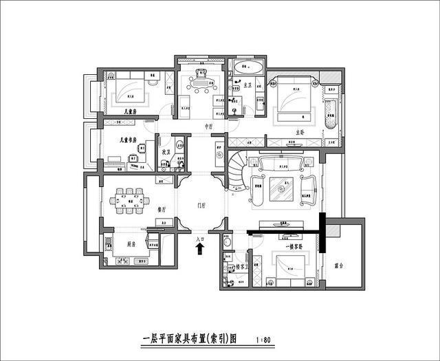 欧式水晶吊灯资料下载-欧式宫廷 复古别墅