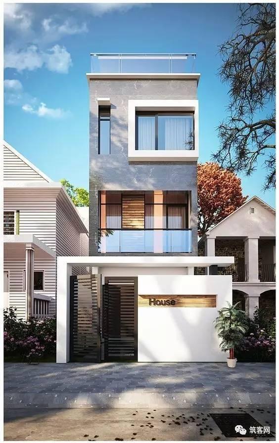 40款·简洁的现代别墅设计_34