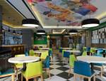 吉旺港式餐厅设计方案文本