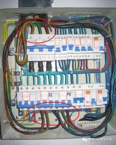 建筑电气工程施工质量通病和解决方法(现场施工图片解说)_34