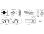 精选景观亭廊施工图(25套)