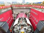 南京五桥夹江隧道盾构机主机组装完成