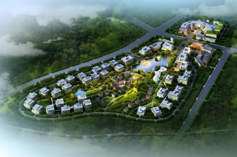 [江苏]钟山创意产业园修建性详细规划设计方案文本