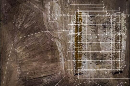 无人机航拍场地图像与BIM模型配合有助于项目质量和效益提升