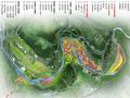 [四川]种植园河道规划爱情主题国际博览园旅游度假村景观规划