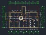 带阁楼11层小高层剪力墙住宅楼结构设计图