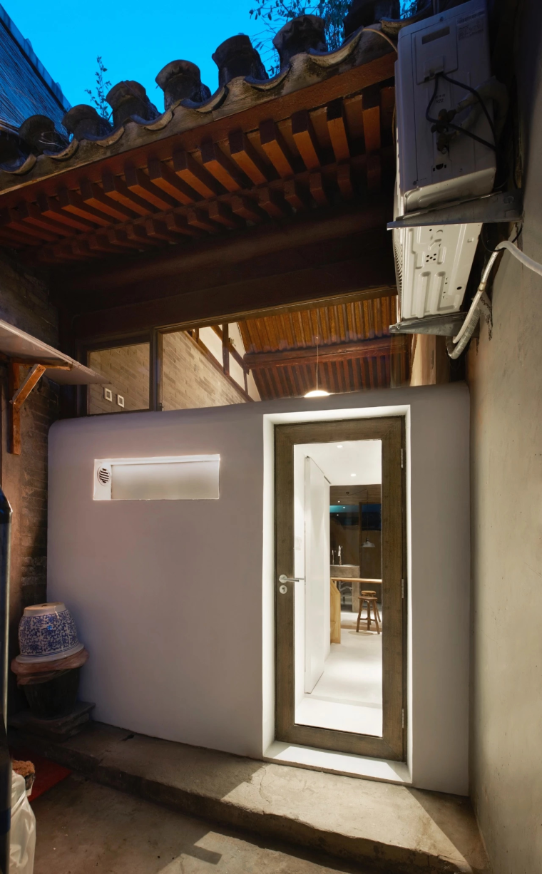北京胡同19平米住宅,将脏乱杂院改造变理想居所