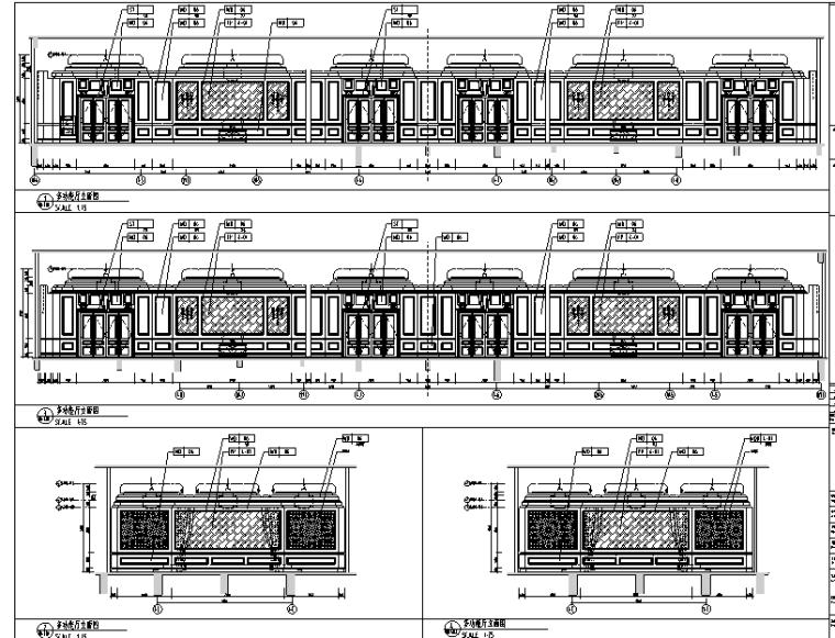 12600平方米酒店空间设计施工图(附效果图)_1