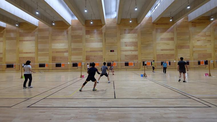 韩国光州羽毛球场-17