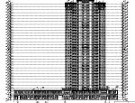 [河北]多栋楼超高层住宅及商业建筑施工图(含全专业)