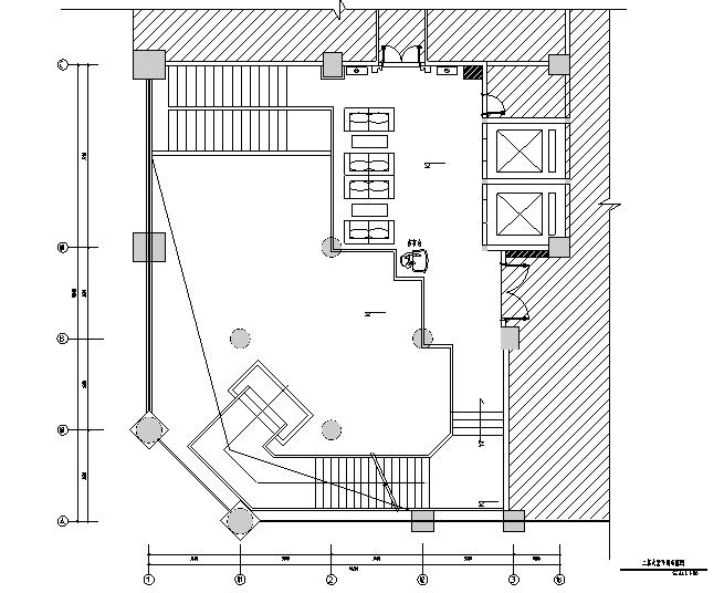 [福建]混搭风格酒店餐饮空间设计施工图(附效果图)